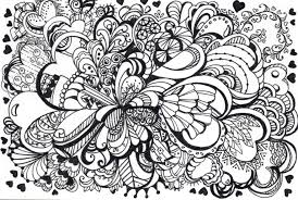 zentangle coloring pages the sun flower pages