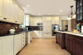 contrasting kitchen cabinets memsaheb net gourmet kitchens and cabinets hannegan construction