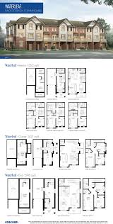 townhomes floor plans townhomes floorplans southfields coscorp inc