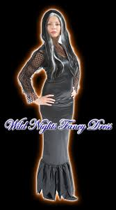 Halloween Costumes Girls Age 2 Fancy Dress Costume Girls Morticia Age 6 8