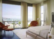 How To Dress A Bedroom Window How To Decorate A Room With Floor To Ceiling Windows