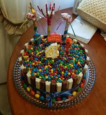 how to make the candy cake