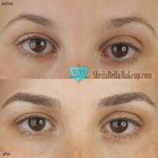 Semi Permanent Tattoo Eyebrows Sheila Bella Permanent Makeup And Microblading