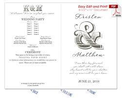 Wedding Program Order Wedding Fan Templates 19 Colors At Crafty Sticks