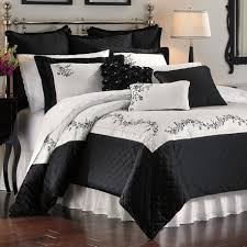 stylish and elegant black comforter for your bedroom bedroom comforter ideas