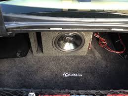 installing subwoofers in a car 9 steps