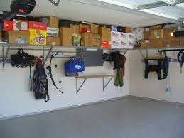 Garage Wall Shelves by Exterior Garage Idea With Metal Lockers And Portable Metal