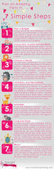 infographic how to plan a party in 7 easy steps