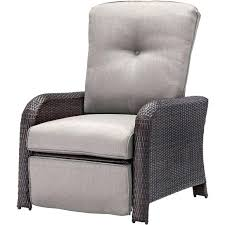 Reclining Patio Chairs by Best Hanover Strathmere All Weather Wicker Reclining Patio Lounge