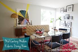 mid century modern dining room art interiorimg us