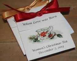 christmas tea party favors poinsettia design teacup tea favors for christmas event