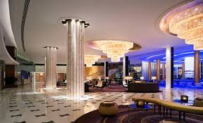 modern hospitality hotel interior design of fountainebleau hotel