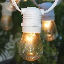 Commercial Grade Patio Light String by White Outdoor String Lights Patio Lighting Wonderful With Stringed