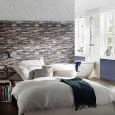 wohnzimmer steintapete innenarchitektur kühles wandgestaltung wohnzimmer steintapete