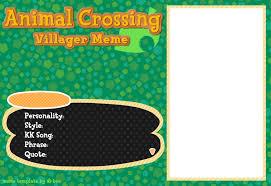 Animal Crossing New Leaf Memes - animal crossing villager meme by beedalee art on deviantart