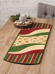 Coffee Table Runners Ez Breezy Quilt As You Go Table Runner U0026 Place Mat Pattern