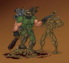 Doom Guy Meme - doom marine by possyboy on deviantart doom guy pinterest