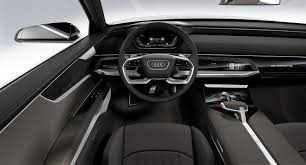 audi dashboard 2017 2018 audi a8 could bring a new interior concept autoevolution
