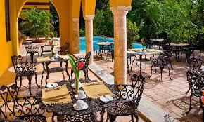 mexican hacienda in mérida yucatán méxico hacienda misné restaurant