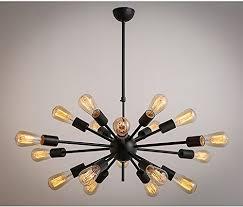 Rh Chandelier Injuicy Lighting Loft Rh Edison Spider Black Ceiling Chandelier