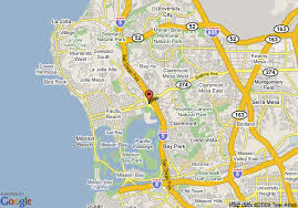 Comfort Inn Sea World Map Of Comfort Inn Mission Bay Sea World Area San Diego