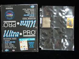 Pocket Pages Item Detail Ultra Pro 12 Pocket Pages 1 Unopened Box Of 100 Pages