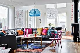 swedish homes interiors colorful home decor in sweden