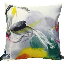 Modern Watercolor pillows Decorative abstract Printed Cushion