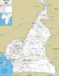 Map Of West Africa Detailed Clear Large Road Map Of Cameroon Ezilon Maps