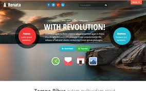 bootstrap themes header renata colorful bootstrap theme bootstrap stage