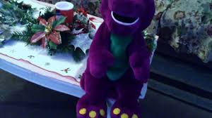 barney playing game actimates doll mp7 youtube