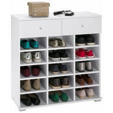étagère derrière canapé range chaussures sur 3suisses