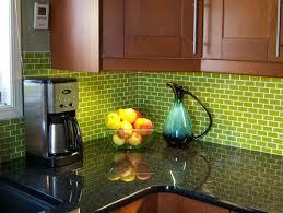 green tile backsplash kitchen green subway tile backsplash white cabinets fascinating kitchen 25