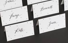 place cards sugar paper