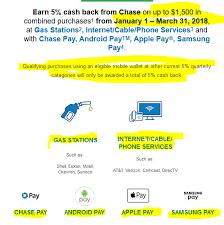 get 5 cashback on purchase q1 2018 5 cashback rewards are epic