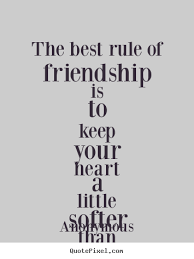 friendship heart friendship quote images quotepixel