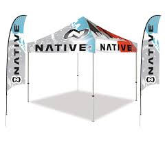 Customize Your Own Flag Custom Graphics On E Z Up Canopies And Accessories