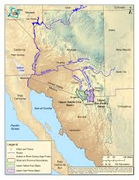 Map Of Arizona And California by Arizona Aquifer Map My Blog
