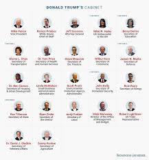 Us Cabinet Agencies Will Any Of Trump U0027s Cabinet Nominees Get Rejected Business Insider