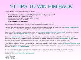 what to say to to be what to say to an ex boyfriend you want back how to get your ex