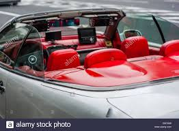convertible mercedes red interior convertible mercedes stock photo royalty free image