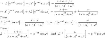 laplace transform table calculator laplace transforms table method exles history of laplace transform