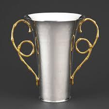 Metal Jug Vase Evoca Vase Small Metal L U0027objet