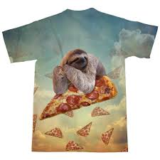 Sloth Meme Shirt - sloth pizza t shirt shelfies