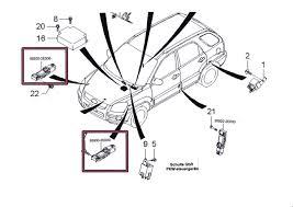 hyundai tucson airbags impact sensor 95930 2e000 hyundai tucson