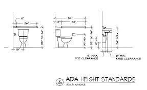 Handrail Height Code California Prepossessing 30 Ada Bathroom Handrail Codes Inspiration Design