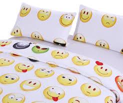 amazon com sleepwish emoji bedding emoji comforter set boy