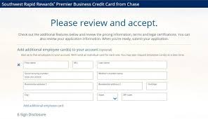 Credit Card Signs For Businesses Is The Southwest Rapid Rewards Premier Business Credit Card Worth