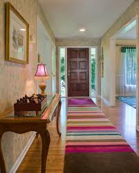 Entrance Runner Rugs Bar Chart Bliss Rug Eclectic Entry Raleigh By Julie Dasher