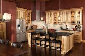hickory cabinets kitchen hickory cabinets with dark wood floors it guide me